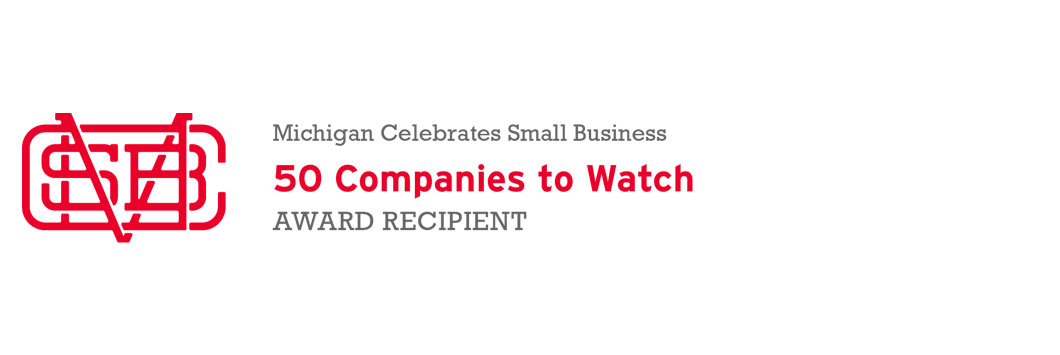 We have been selected as a top 50 business in MI to watch!